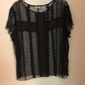 Sheer Hinge top medium